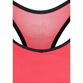 asics Racerback Brassière Femme, diva pink